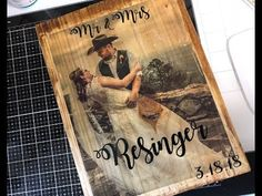 Learn the secret to transfer Photos to Wood with Mod Podge, it's easy when you know how. Picture Onto Wood, Picture Transfer To Wood, Wood Projects, Craft Projects, Craft Ideas, Wood Crafts, Paper Crafts, Kids Crafts, Decoupage
