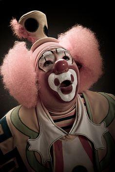 By Nicola Okin Frioli Dark Circus, Circus Art, Circus Clown, Circus Theme, Le Clown, Clown Faces, Creepy Clown, Pantomime, Pierrot Clown