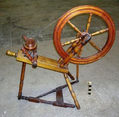 early America | Early American Spinning Wheel1