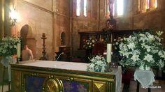 Arreglos para la ceremonia en Santa Marina #CórdobaESP  #Floristería #RamónLuque #Bodas   ramonluque.es