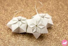Origami Hexagonal Puffy Star Tutorial - Paper Kawaii Learn how to fold a beauti. Origami Hexagonal Puffy Star Tutorial – Paper Kawaii Learn how to fold a beautiful hexagonal ori Origami Star Box, Origami And Kirigami, Origami Stars, Origami Flowers, Oragami, Diy Flowers, Origami Envelope, Origami Paper Art, Flower Diy