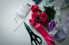 Clarissa Elizabeth: DIY Fake Baby's Breath, Lace Ribbon, Fake Flowers, One Color, Craft Stores, Dollar Stores, Things To Think About, About Me Blog, Make It Yourself