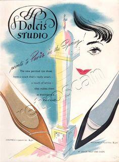 1958 Dolcis Studio Shoes