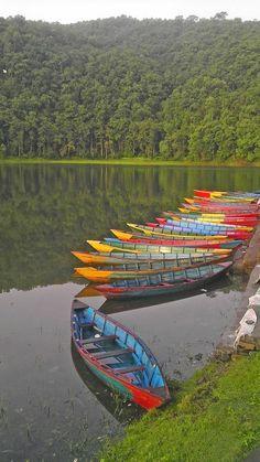 PHEWA LAKE POKHARA - Pokhara, Gandaki, Nepal Copyright: Erol Sahin
