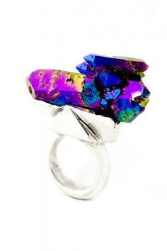 Andy Lifschutz Nature Speaks Ring