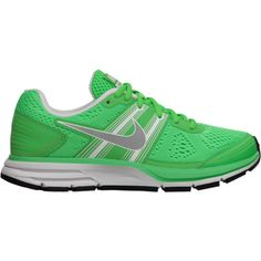 Nike Air Pegasus+ 29 Women's Running Shoes - Green, 9.5 ($100) ❤ liked on Polyvore