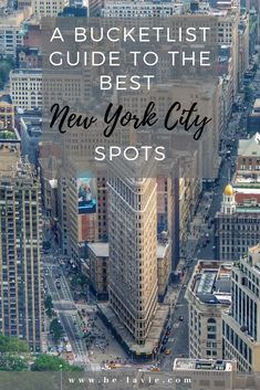 A Bucketlist Guide to the Best New York City Spots New York City Vacation, Visit New York City, New York City Travel, Go To New York, New York Must See, New York City Shopping, New York Trip, New York In March, New York Travel Guide