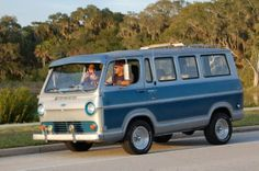 1966 Chevy G10 panel van