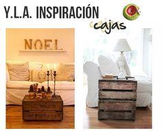 Con un poco de Inspiración una simple  #Caja se convertira en... #yla
