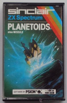 PLANETOIDS. JUEGO PARA SPECTRUM ZX Games Box, Old Games, Games To Play, Retro Video Games, Video Game Art, High End Gaming Pc, Gaming Pc Build, Pc Engine, Old Computers