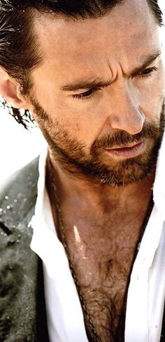 Oh my.....Hugh Jackman....seriously, this man makes me smile....and well, other things too :) #HughJackman
