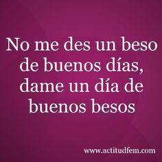 besos...besos (pineado por @pablocoraje)
