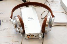 Aedle VK-1 Headphones + iFi iCAN Headphone Amplifier.