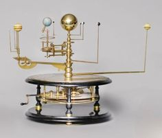 Solar System Globes   orrery = map of the solar system