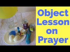 What's the point of prayer? This object lesson on prayer looks at prayers of thanks, adoration, requests and repentance, and how each is similar but unique. Kids Sunday School Lessons, Kids Church Lessons, Bible Lessons For Kids, Lds Object Lessons, Prayer Crafts, Devotions For Kids, School Prayer, Childrens Sermons, Prayers For Children