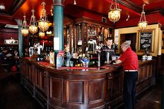 If there is such thing as a typical London pub, Duke Of York (near Victoria Station, London, UK ) could be the one. Let's look inside - bar. Inside Bar, The Holt, Old Bar, Bars And Clubs, Pubs And Restaurants, London Pictures, Duke Of York, Listed Building