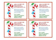 Legend of the Candy Cane poem printable. per page) Colored text on page Black text on page Christmas Books For Kids, Winter Crafts For Kids, Christmas Fun, Candy Cane Poem, Candy Cane Legend, Holiday Traditions, Xmas Tree, Machine Embroidery Designs, Crafts To Make