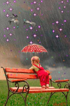 Discover & share this Animated GIF with everyone you know. GIPHY is how you search, share, discover, and create GIFs. Bisous Gif, Rain Gif, I Love Rain, Autumn Rain, Umbrella Art, Beautiful Gif, Gif Pictures, Dancing In The Rain, Rainy Days