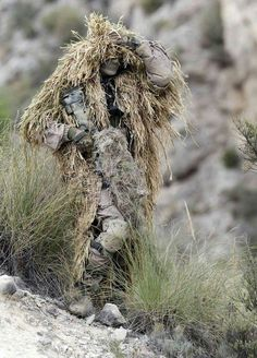 Tactical Gear: Ghille Suit Camo