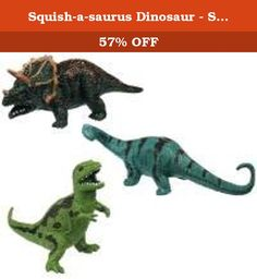 Squish-a-saurus Dinosaur - Styles Vary. Squeeze and stretch all you want with these highly durable dinosaurs. Toysmith's mission is to supply quality toys and gifts while delivering superior customer service to retailers. We offer products in many key categories including: active play, science & discovery, arts & crafts, impulse & novelty toys, and nostalgic retro classics!.