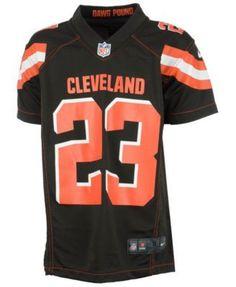 5da1fff3376 Nike Joe Haden Cleveland Browns Game Jersey