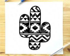 Arte Tribal, Cactus Decor, Aztec Designs, Cricut Tutorials, Silhouette Cameo Projects, Cricut Creations, Cricut Vinyl, Vinyl Projects, Cricut Design