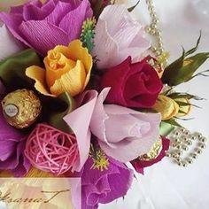 OksanaT (@tvorcheskaia_m77) • Фото и видео в Instagram Floral Wreath, Wreaths, Sweet, Decor, Candy, Floral Crown, Decoration, Door Wreaths, Deco Mesh Wreaths