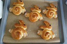 Süße Hefe-Hasen, ein gutes Rezept aus der Kategorie Kuchen. Bewertungen: 11. Durchschnitt: Ø 3,7.