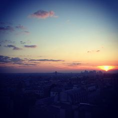 Vue du ciel de #montmartre // Life is a DIY // blog lifestyle