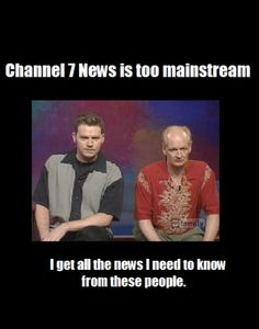 Weird Newscasters=one of my favorite Whose Line skits 5ever