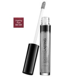 Avon Extra Lasting Lip Gloss Lingering Plum * For more information, visit new makeup products link.