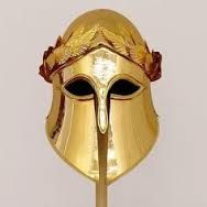 A helmet that Athena would be seen wearing and is also one of her symbols