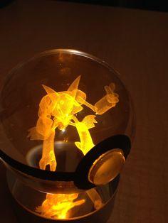 Alakazam Pokemon Pokeball by PokeMasterCrafter on Etsy