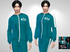 Puresim's Squid Game Jacket - Sims 4 Updates -♦- Sims 4 Finds & Sims 4 Must Haves -♦-