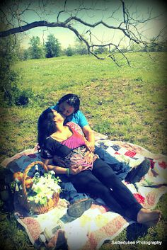 # pregnancy shoot picnic idea I did
