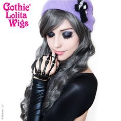 Gothic Lolita Wigs® <br> Classic Wavy Lolita™ Collection - Pewter