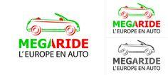 Logo design Megaride Auto Canada Italia