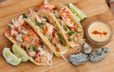 Cousins Maine Lobster Opens in Pasadena + Lobster Ice Cream Lobster Recipes, Seafood Recipes, Mexican Food Recipes, Healthy Food Blogs, Healthy Food Choices, Healthy Recipes, Lobster Tacos, Fresh Lobster, Home Meals