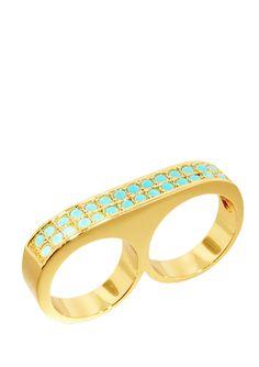 ERICA ANENBERG Mirage Twosome Ring