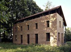 Heinz Bienefeld - House Babanek, Brühl 1997. Via Ainfantek, photos © Cornelia Suhan.
