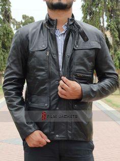Arnold Schwarzenegger Terminator Genisys leather Jacket 5