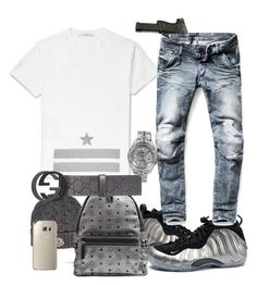 #32 by ebkkeef on Polyvore featuring polyvore, fashion, style, MCM, Rolex, Givenchy, G-Star Raw, Gucci, Moncler, NIKE and clothing