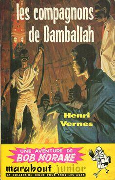 Les compagnons de Damballah, Bob Morane par Pierre Joubert