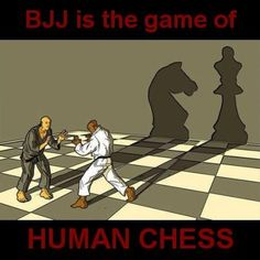 BJJ is the game of Human Chess