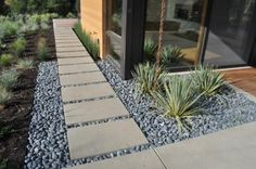Landscaping shrubs basic landscape design plans,front yard landscaping ideas simple gray river rock landscaping,herb garden design images of front yard landscaping. Landscaping With Rocks, Modern Landscaping, Front Yard Landscaping, Backyard Patio, Backyard Landscaping, Landscaping Ideas, Gravel Patio, Landscaping Software, Walkway Ideas