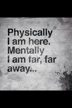 quote, mentally, and away image