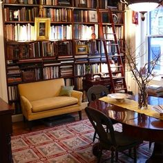 A Literary Lunch and Lounge - Multipurpose Rooms: Spaces with Multiple Personalities - Bob Vila