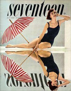 Seventeen magazine 1949 July by AngoraSox, via Flickr