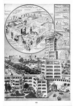 Science in New Apartment House De Luxe (1922) |via Visual Loop