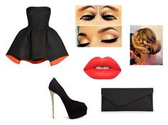 """""""Untitled #127"""" by skirmantesatkute on Polyvore featuring Parlor, Giuseppe Zanotti, Lime Crime and Accessorize"""